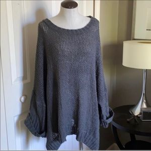 VICI Oversized Open Weave Sweater Sz. M
